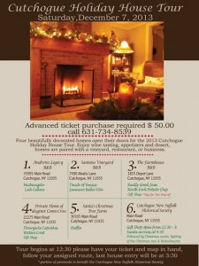 Cutchogue Holiday House Tour poster2013